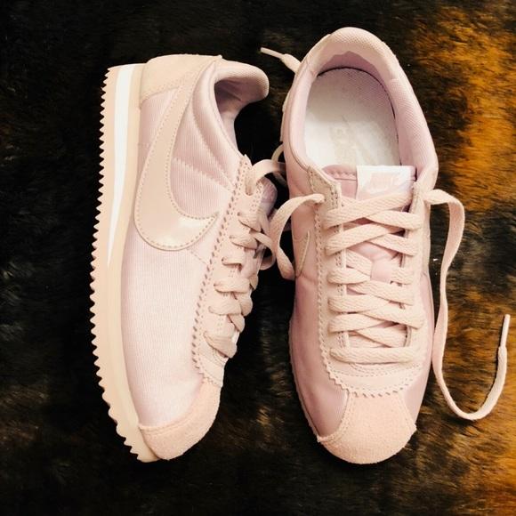 wholesale dealer 7b3ff c856a Pink Pastel Colored Nike Classic Cortez Sneaker
